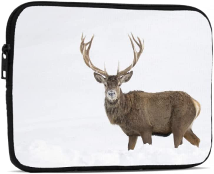Ipad Pro Sleeve The Deer Male Pouch in Winter Forest Max 90% OFF Compat Popular product