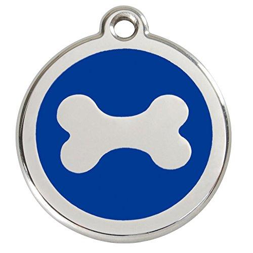 Red Dingo Medaglia per Cane Blu OS 30mm