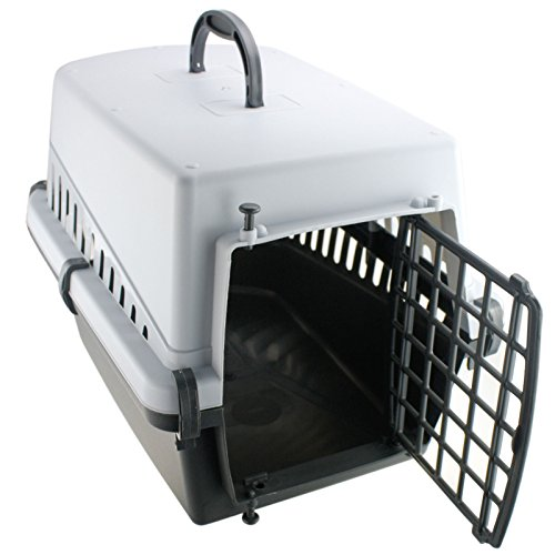 Tier Transportbox Transportkäfig Transportkorb Tiertransportbox Tierbox Katze Welpe Hund - 2