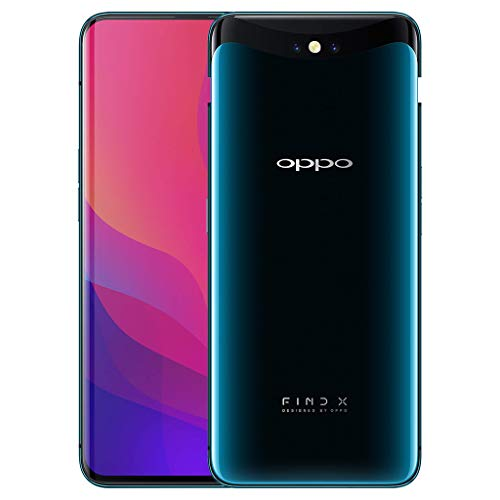 Oppo Find X 16.3 cm (6.4) 8 GB Dual SIM 4G Blue 3750 mAh - Smartphones (16.3 cm (6.4), 2340 x 1080 pixels, 8 GB, 20 MP, Android 8.1, Blue)