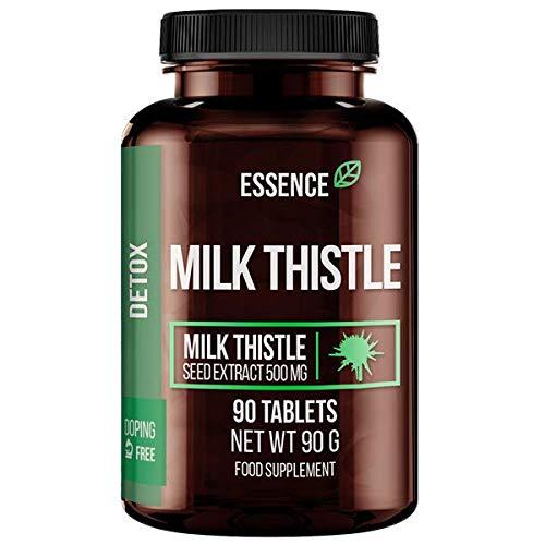 Essence Nutrition Del cardo de leche, 500 mg - 90 comprimidos 150 g