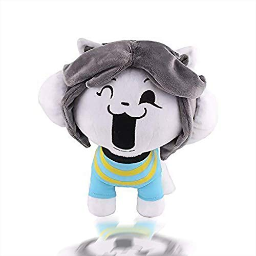 Temmie Plush Stuffed Doll Cute New Creative Gifts for Children Under The Legendary Role-Playing Undertale