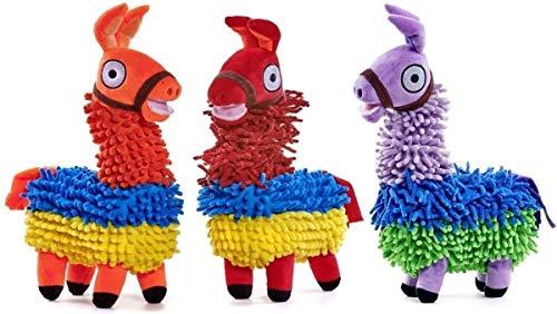 Marlowe The Llama 33cm Tall Colorful Llama Juguete Blando Animal Alpaca Nuevo