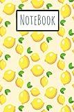 Lemon Notebook: journal ligné de 119 page - une très belle idée de cadeau