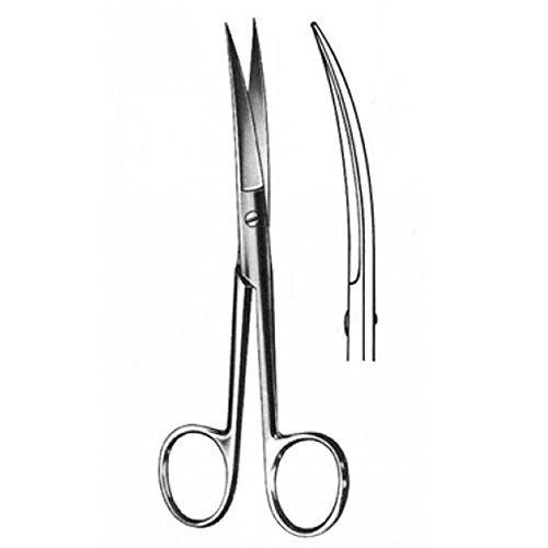 Tijera Cirugía Curva A/A 14 cm Tx-Unidad