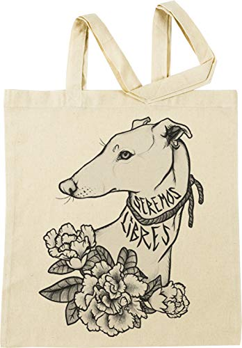 Vendax Seremos Libres - Greyhound Beige Bolsa De Compras