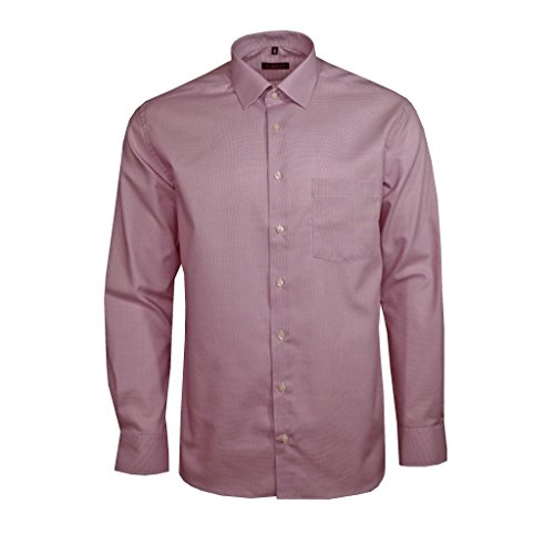 Eterna Chemise business - Homme Rouge Rot