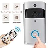 Timbre de Video inalámbrico, 1280 * 720p, Sistema de Seguridad Inteligente, cámara HD WiFi, visualización de Video en...