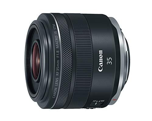 Canon RF 35mm f/1.8 IS Macro STM Lens, Black - 2973C002