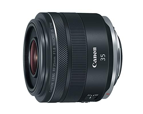 Canon RF 35mm f/1.8 IS Macro STM Lens, Black - 2973C002
