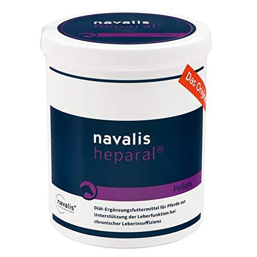 navalis heparal Horse - Diät Ergänzungsfuttermittel für Pferde, Option:Heparal 1000 gr Pellets in der Dose