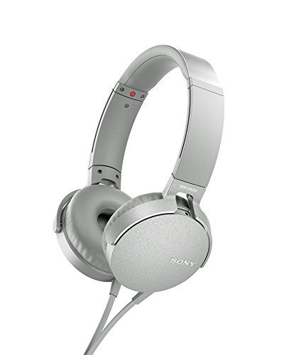 Sony MDR-XB550AP Casque avec EXTRABASS Blanc