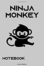 Ninja Monkey Notebook College Ruled ver. 3: Amazon.es ...
