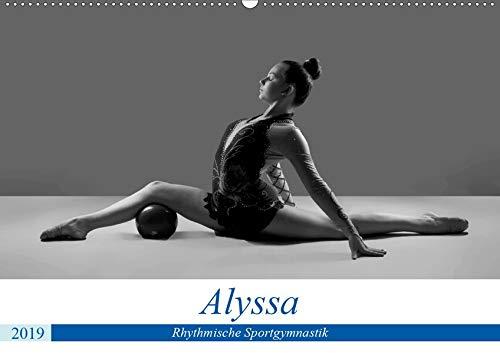 Rhythmisch Sportgymnastik - Alyssa (Wandkalender 2019 DIN A2 quer): Anmutige Posen in im Sport (Monatskalender, 14 Seiten ) (CALVENDO Orte)