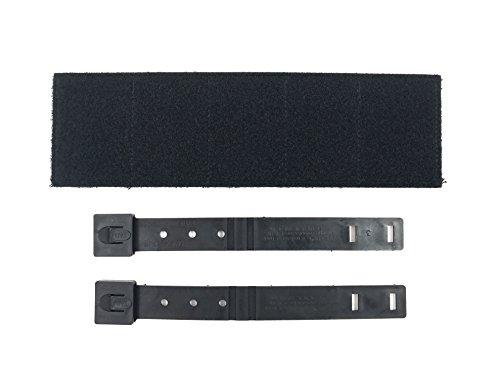 """Patriot Patch Co - Molle Tactical Bag Patch Panel Accessory (Black, Large (LE) 3""""x10"""")"""