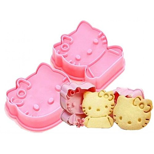 Plastik Hello Kitty Ausstecher Set