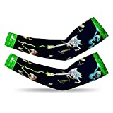 Ri-ck And Mor-ty UV Protection Cooling Arm Sleeves...