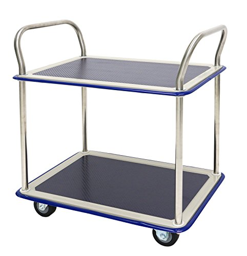 Transportroller Kapazit/ät 250 kg Dolly Fahrgestell M/öbelhund Schwarz LxBxH: 610 x 415 x 173 mm T-EQUIP Transportroller SKMW-D-M