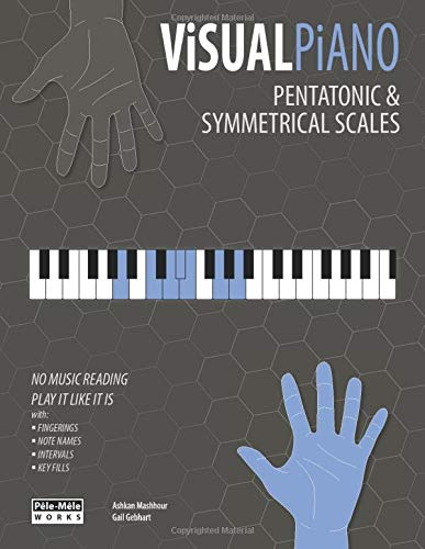 VISUAL PIANO: Pentatonic & Symmetrical Scales