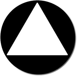 ADA All Gender Unisex Restroom Door Sign,California Title 24-Black/White 12