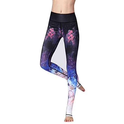 Bussiness Wear Sale UOKNICE Pants Rompers for Women,Women's Casual Digital Printing High Waist Hip Exercise Yoga Leggings