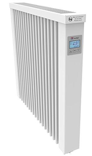 AeroFlow Radiateur électrique Compact 1300 avec Briques réfractaires et Multi-contrôleur FlexiSmart (Andorid et iOS) Chauffage à Accumulation de Surface en Tant Que Chauffage d'appoint électrique