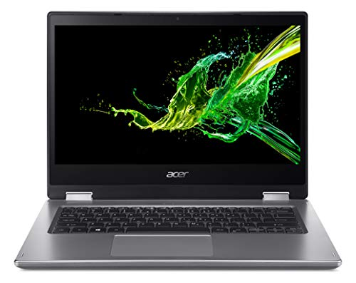 Acer Spin 3 SP314-53N 14-inch Convertible Laptop - (Intel Core i5-8265U, 8GB RAM, 256GB SSD, Full HD Touchscreen Display, Windows 10, Silver)