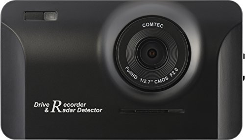 コムテックドライブレコーダー+GPSレーダー探知機一体型CB-R01フルHD高画質データ更新無料CBR01