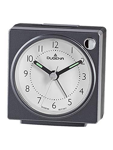 Dugena Wecker, Kunststoff, Schwarz, 63 x 66 x 33 mm