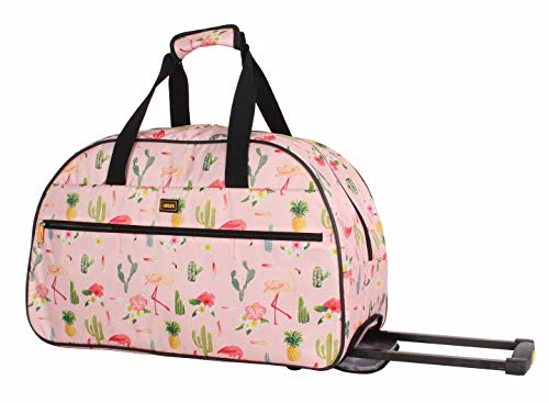 Lucas Designer Carry On Luggage Collection - Lightweight Pattern 22 Inch...