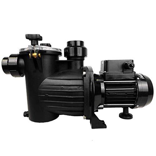 well2wellness® Selbstansaugende Filterpumpe Umwälzpumpe Mida.Alpha 10 mit 12 m³/h