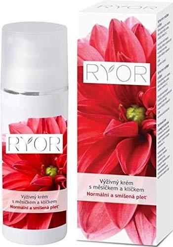 Ryor Pflegecreme mit Ringelblume und Weizenkeimöl 50 ml