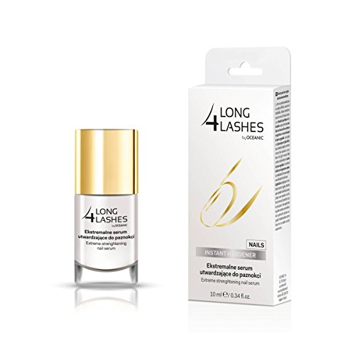 Long4Lashes, Nails Extreme Strenghtening Serum 10 Ml, Nude Whisper