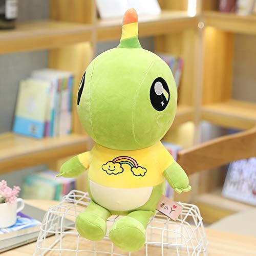 HHIAK666 Unicorn Plush Toys, Cartoon Dolls, Cute Dinosaur Pillows, Children's Dolls 50cm yellow