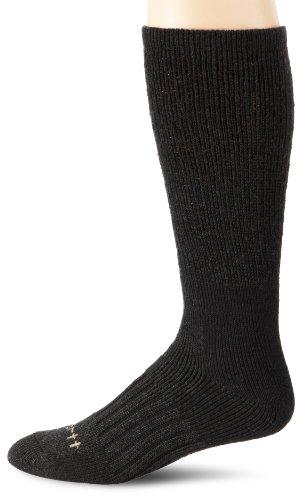 Carhartt Men's Full Cushion Recycled Wool Crew Socks, Charcoal, Shoe: 6-12