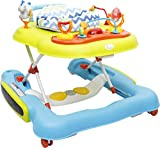 R for Rabbit Tik Tok The 4 in 1 Baby Walker Cum Activity Center (Multicolor)
