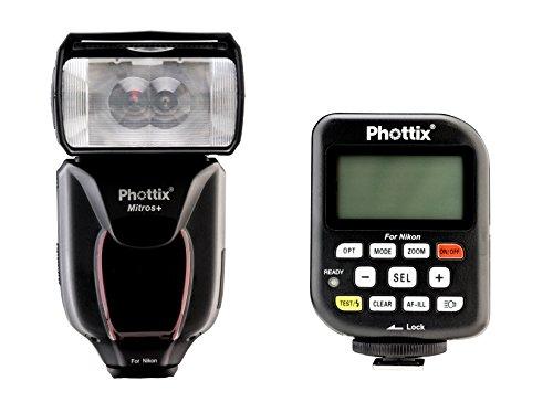 Phottix PH80376 Mitros+ Odin TCU Blitzauslöser mit Transmitter Kombination für Nikon