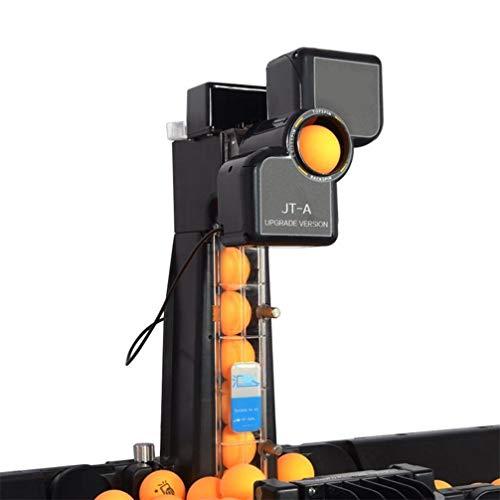 DSGYZQ Robot de Tenis de Mesa de Ping Pong con 9 Bolas de Giro Diferentes. Máquina de Pelota de Bolas de Pelota de Bola automática para Entrenar Ejercicio,A