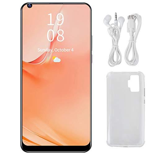 Teléfono Inteligente, Tarjeta Dual, Doble Modo de Espera, Pro + 6.72in, teléfonos celulares 3G GSM4, resolución 720x1560 con cámara de Alta definición para Viajes(Black)