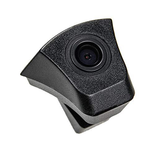 Auto vista frontale fotocamera, colore impermeabile veicolo Carmera frontale di visione telecamera (Nero) per Audi Q5 Audi A3 A4 A5 A6 A8 Q7 S5 2012 – 2016