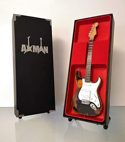 John Mayer Fender Gitarre Stratocaster Black 1 - Miniaturgitarre Nachbildung