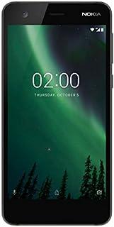 Nokia 2 Smartphone Dual SIM, 8 GB, Nero [Italia]
