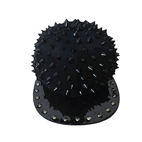 MAYBAO - Sombrero de béisbol con diseño de Remaches, MDM-2, Negro, Free (Varios)