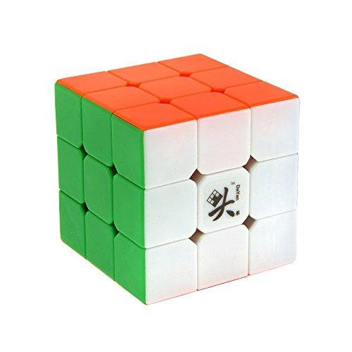 Topways Dayan V5 zhanchi ad Alta velocità Magic Cube 3x3x3 Magique cubo Puzzle Cube 55mm Magico cubo (Colorato 55mm)