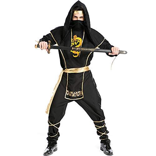 Halloween volwassen Fancy jurk kostuums, kostuums Halloween kinderen Cosplay Halloween partij, mannen Ninja pak Hokkaido Samurai kostuum Halloween Cosplay