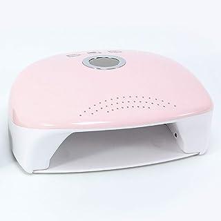 Secadores de UñAs Lámpara UV de Fototerapia de Inducción Inteligente LED para Secador de Claves multifuncional 48w con función de sincronización de 30s 60s 99s 220v,Pink