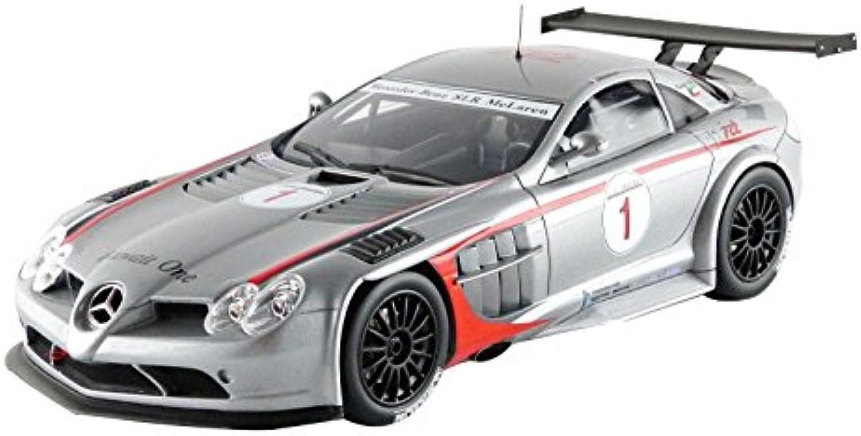 GT Spirit–zm063–Mercedes-Benz SLR McLaren 722GT–GT Trophy 2008–Mastab 1 18–Silber