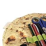 Worglo-Storage-OrganizationBurrito-Pencil-Case-Creative-Pancake-Pencil-Case-Funny-Burrito-Pen-Holder