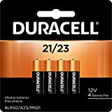 Duracell - 21/23 Alkaline Batteries - long lasting, 12 Volt specialty battery for household and business - 4 count