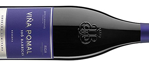 Viña Pomal - Vino tinto 106 barricas reserva 2010 Edición limitada Rioja